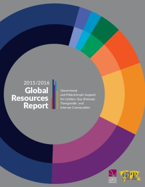 2015-2016 Global Resources Report: Philanthropic & Government Support for Lesbian, Gay, Bisexual, Transgender, and Intersex Communities
